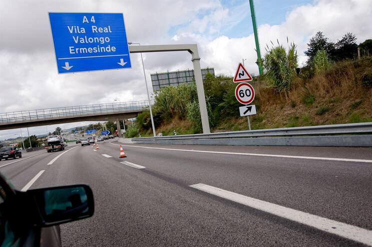 Trabalhos na A4 vão condicionar trânsito em Ermesinde