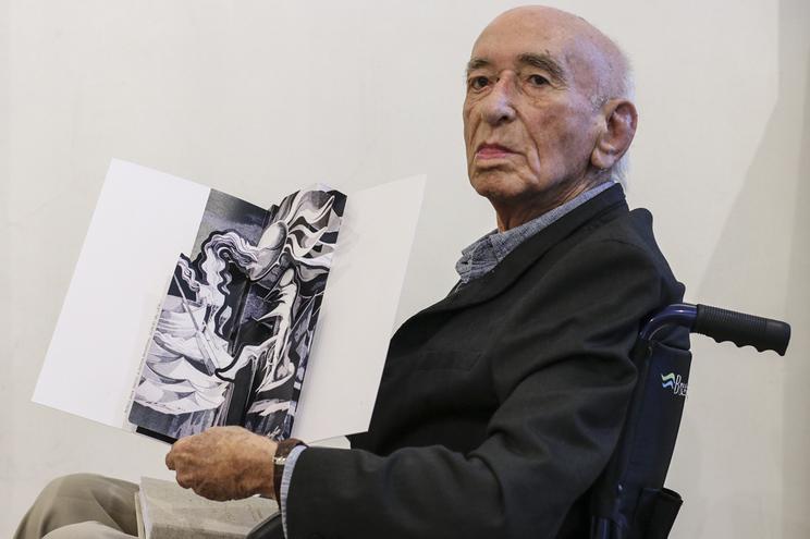 Mestre Cruzeiro Seixas numa homenagem em setembro de 2019