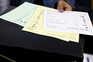 Os boletins de voto das eleições autárquicas deste ano