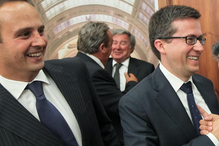 Fernando Medina e Carlos Moedas defrontam-se em Lisboa