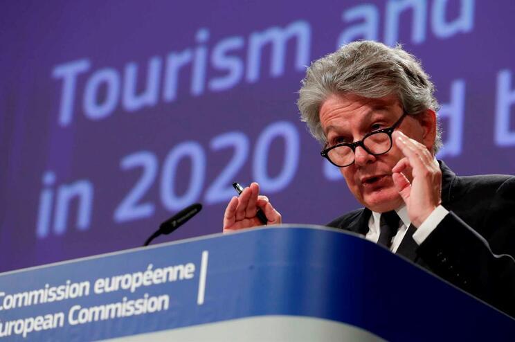 Thierry Breton, comissário europeu do Mercado Interno