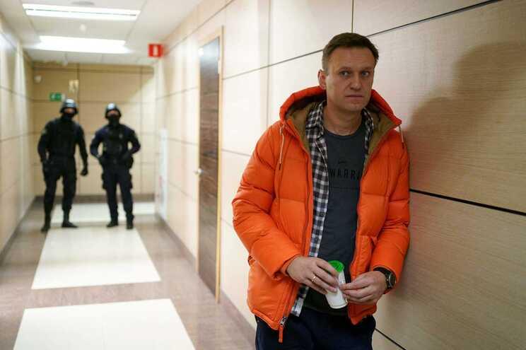 Alexei Navalny está em greve de fome