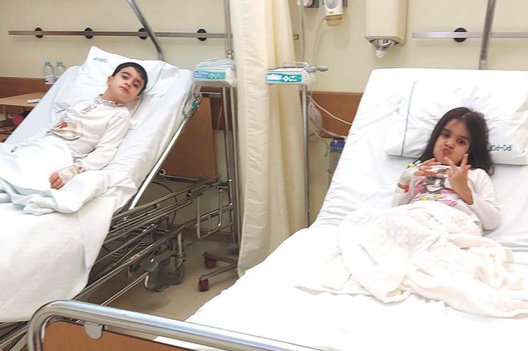 Jaime e Leonor foram operados recentemente para extração de tumores