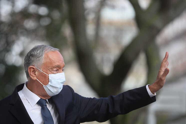 O candidato à Presidência da República, Marcelo Rebelo de Sousa