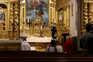 Missa vão ser transmitidas por via digital, à semelhança do que já aconteceu noutras paróquias na primeira