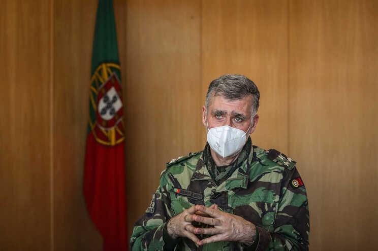 """Vice-almirante Henrique Gouveia e Melo, coordenador da """"task-force"""" da vacinação"""