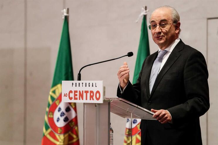 O candidato à liderança do PSD e atual presidente do partido, Rui Rio