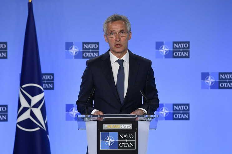 Secretário-geral da NATO, Jens Stoltenberg