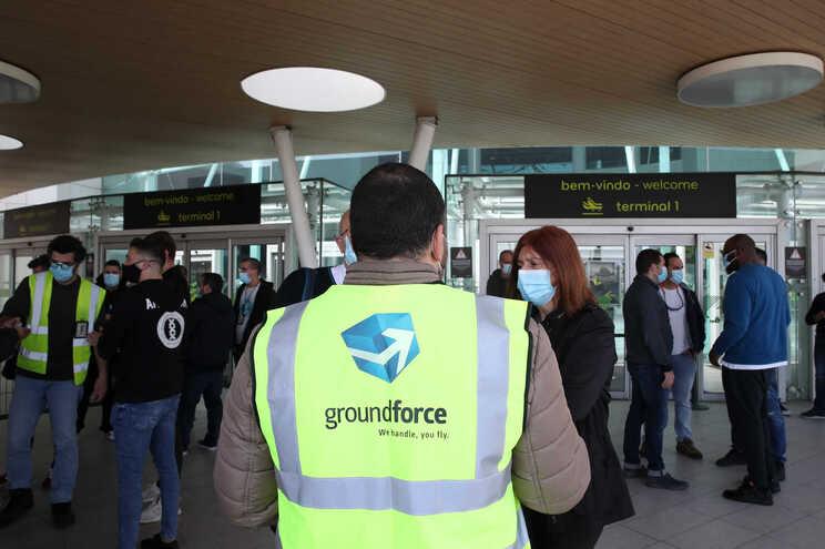 Groundforce tem 2400 trabalhadores