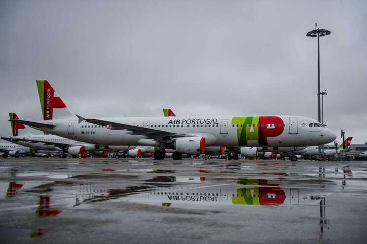 Aviões da TAP Air Portugal