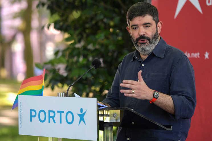 Sérgio Aires,  candidato do BE à Câmara do Porto