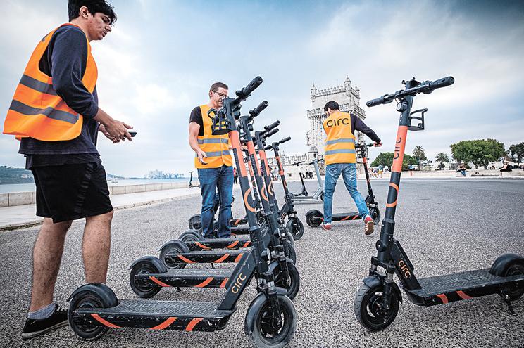 Veículos partilhados dão emprego a mais de 500 pessoas