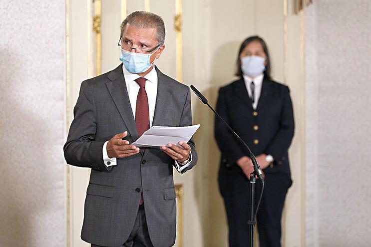 José Tavares, presidente do Tribunal de Contas