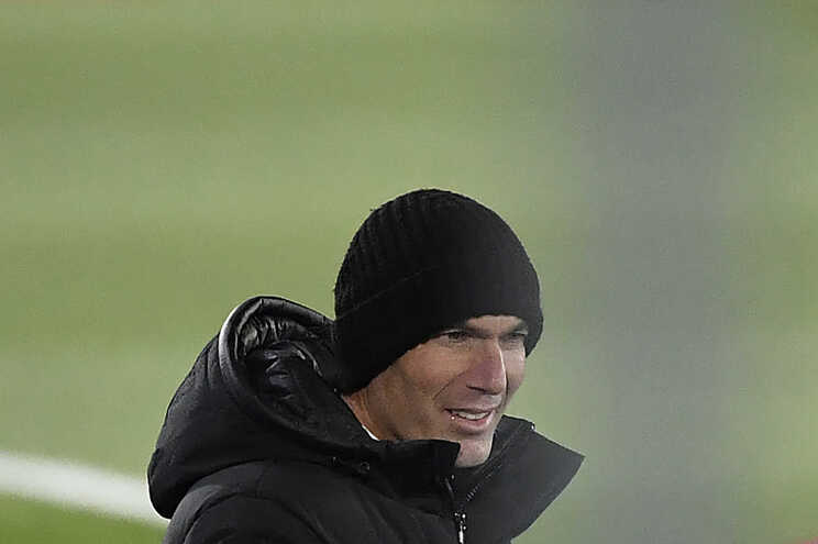 Zidane, treinador do Real Madrid