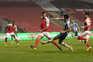 O S. C. Braga e o F. C. Porto empataram a uma bola na primeira mão das meias-finais da Taça de Portugal
