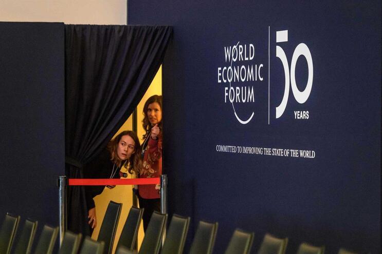 Fórum Económico Mundial realiza-se em Davos, na Suíça