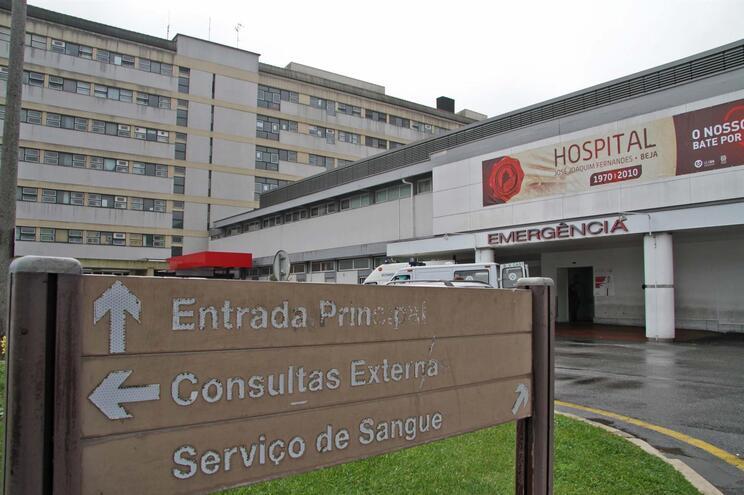 Alguns utentes estão internados no Hospital de Beja