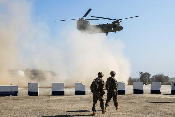 Tropas militares no Iraque