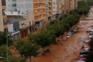Chuvas fortes no sul de Espanha deixam rasto de destruição