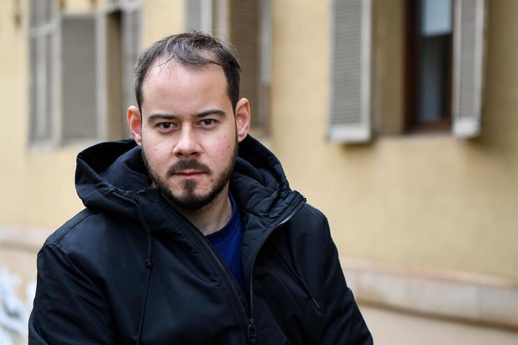 """O """"rapper"""" espanhol Pablo Rivadulla Duró, conhecido como Pablo Hasél"""