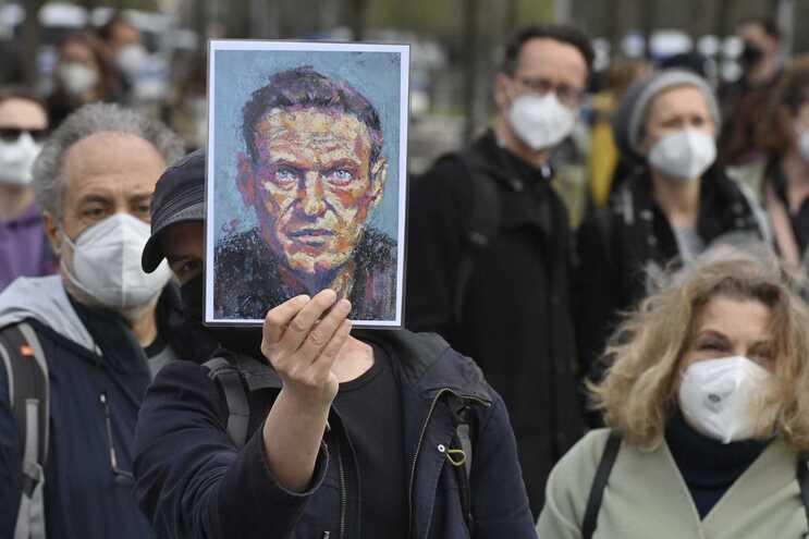 Navalny está em greve de fome desde o final de março