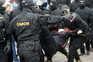 Mais 200 pessoas detidas em manifestação contra presidente da Bielorrússia
