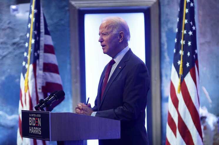 Joe Biden, candidato democrata à Casa Branca