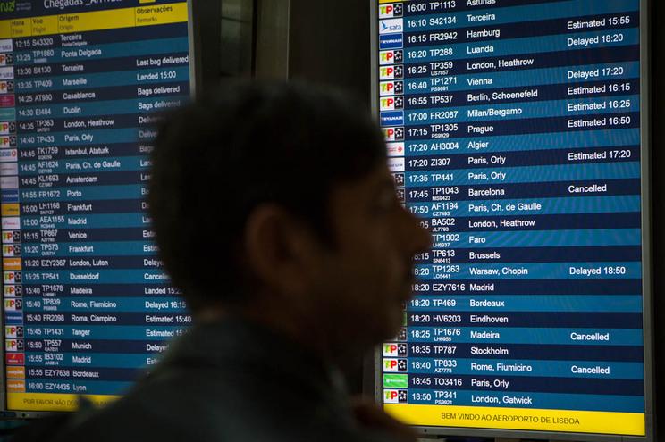 Aumento de tráfego nos aeroportos nacionais