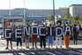 Brasileiros manifestam-se em Lisboa contra presença de ministro da Saúde