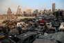 Capital libanesa parece ter sido atingida por uma guerra de anos