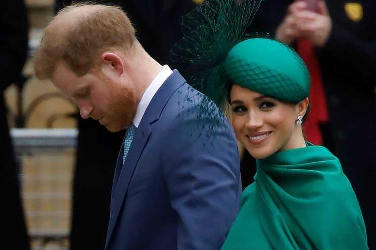 Príncipe Harry e a mulher, Meghan Markle
