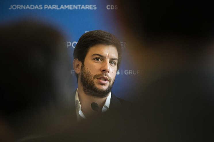Francisco Rodrigues dos Santos, presidente do CDS-PP
