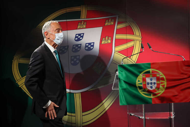 Marcelo Rebelo de Sousa anunciou recandidatura