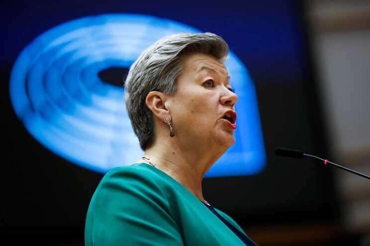 Ylva Johansson, comissária europeia de Assuntos Internos