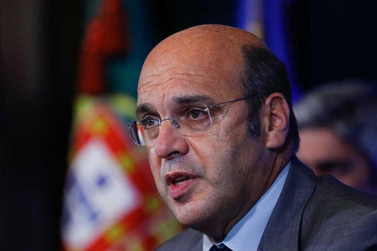 O ministro de Estado, da Economia e da Transição Digital, Siza Vieira