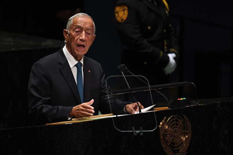Marcelo Rebelo de Sousa na 76ª Assembleia-Geral da ONU