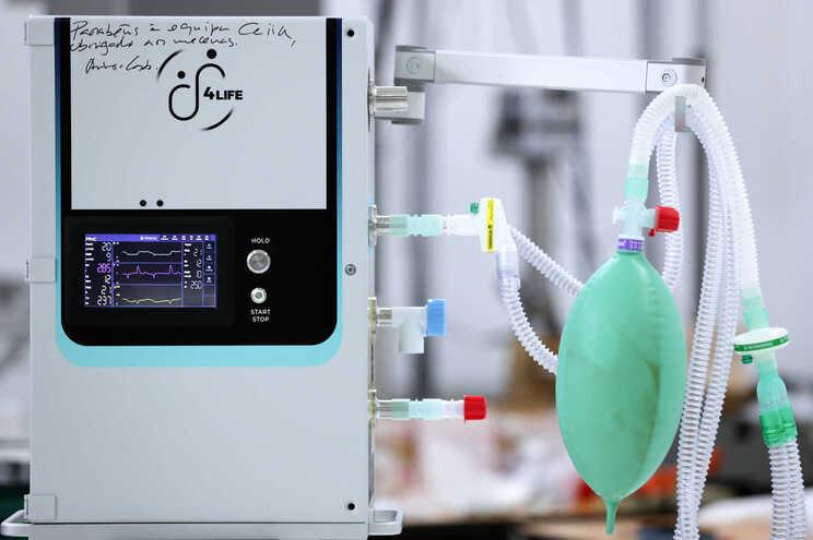 Ventilador produzido pelo Centro para a Excelência e Inovação na Indústria Automóvel (CEIIA), em Matosinhos