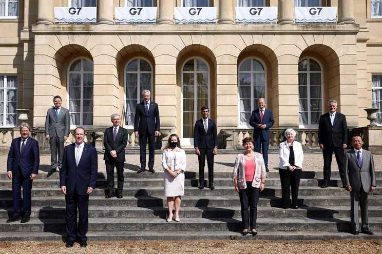 Ministros das Finanças do G7