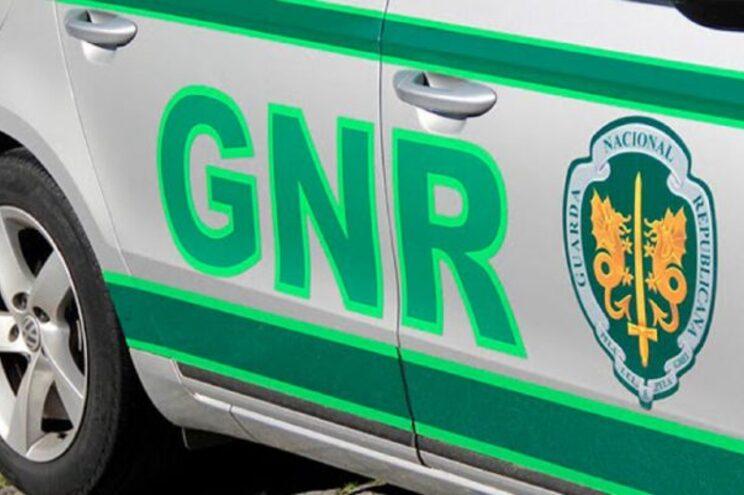 GNR deslocou-se ao local na sequência de uma denúncia