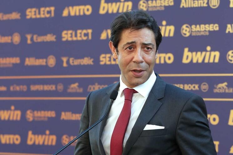 Rui Costa, presidente do Benfica
