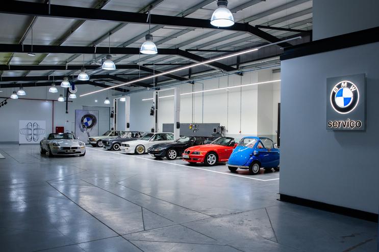 Espaço dos clássicos da BMW na BMCar