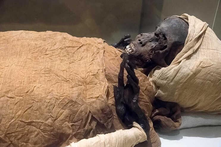 Sequenenre Atao II reinou o sul do Egito cerca de 1600 anos antes de Cristo