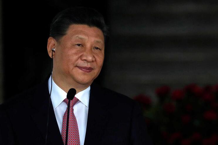 O Presidente chinês Xi Jinping