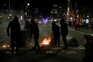 Em Barcelona, alguns manifestantes envolveram-se em confrontos com a polícia
