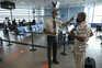 Medição de temperatura no Aeroporto de Lisboa
