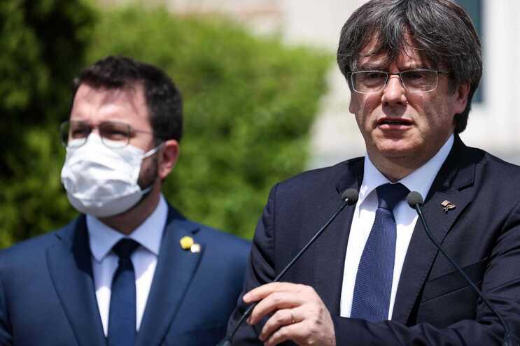 Carles Puigdemont foi preso na noite de quinta-feira