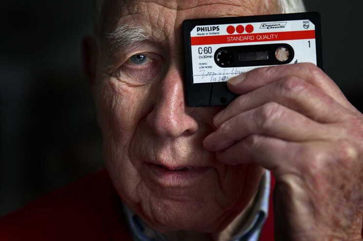 Lou Ottens, engenheiro holandês que mudou a indústria musical com a invenção da cassette áudio