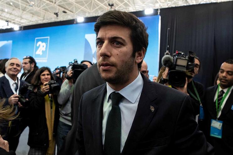 Francisco Rodrigues dos Santos, o novo líder do CDS-PP