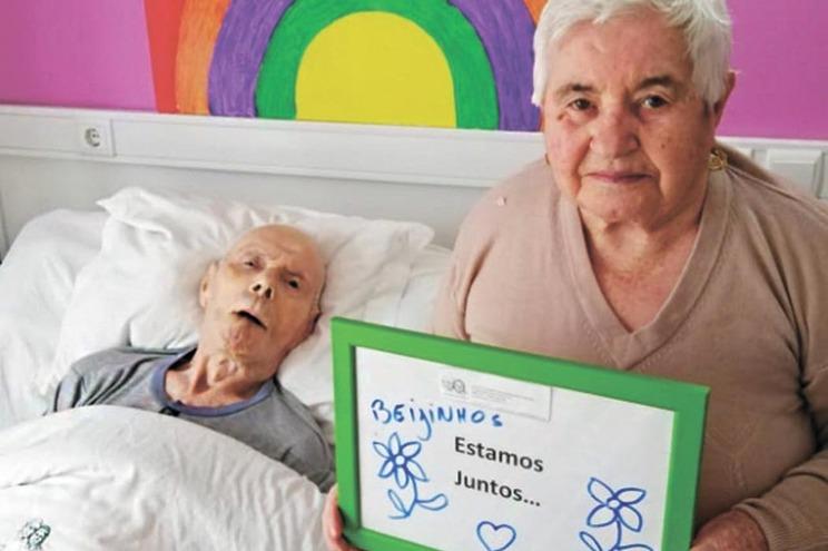 Rosa Dantas, de 89 anos, e Casimiro Dias, de 91