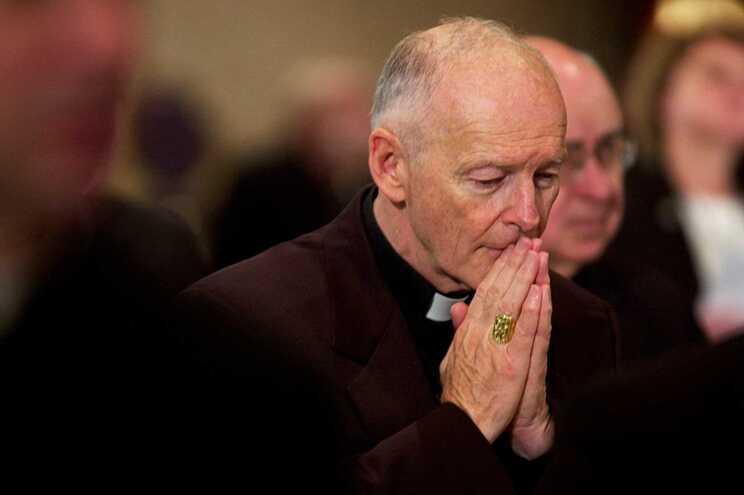 O ex-cardeal Theodore McCarrick